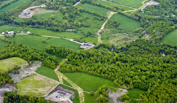 Fragmented Pennsylvania landscape © 2010 J. Henry Fair