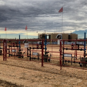 The Anadarko site: combined well injection and extraction